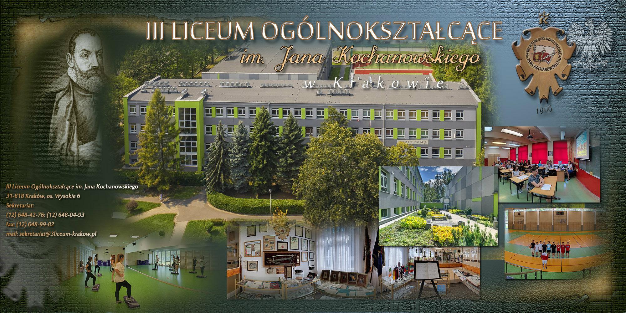 III Liceum Ogólnokształcące w Krakowie - os. Wysokie | Prezentacja  panoramiczna - wkraj.pl